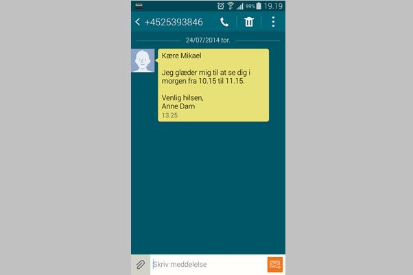 SMS påmindelser 6