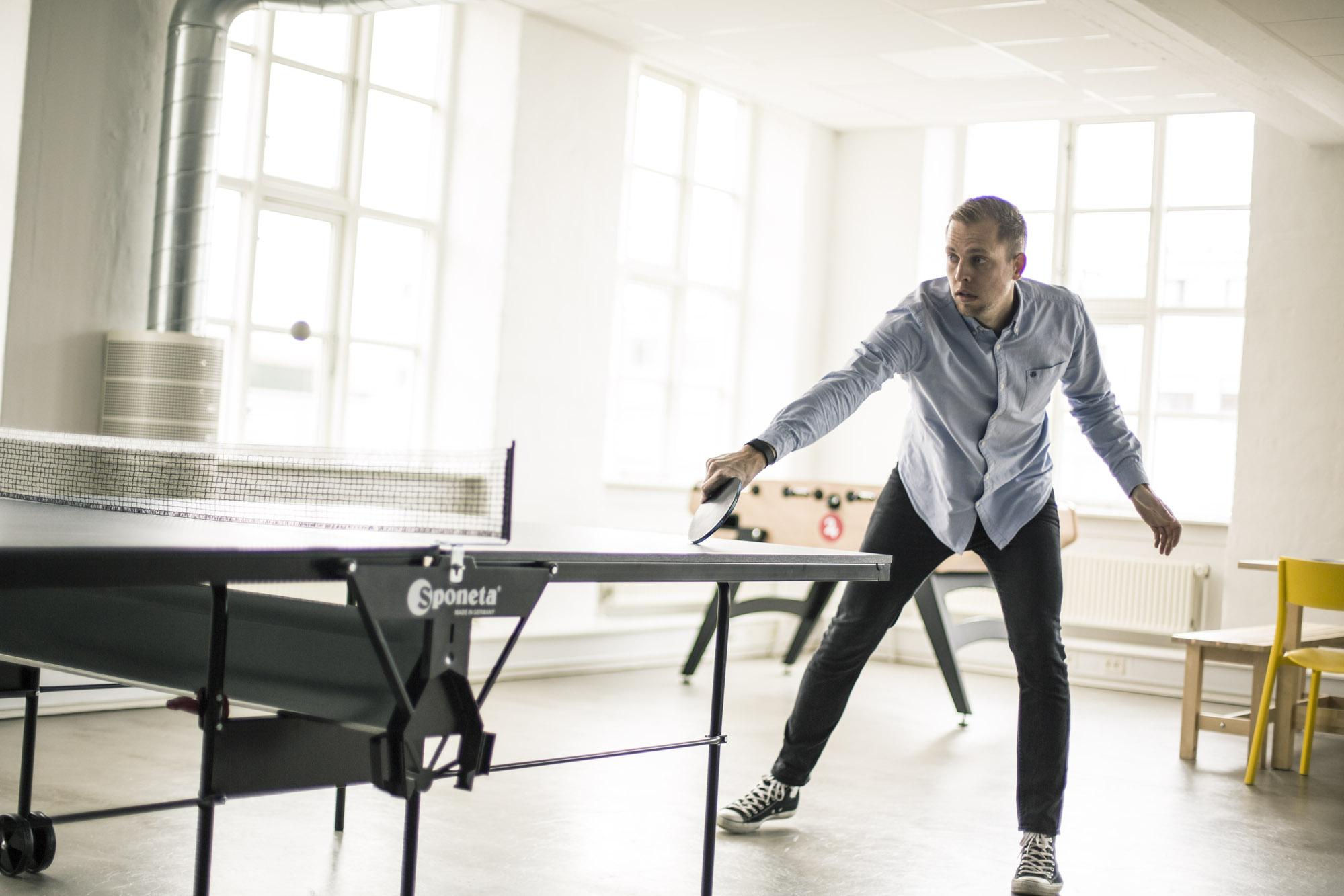 Mulighed for underholdning i pauser mellem arbejdet hos Terapeut Booking